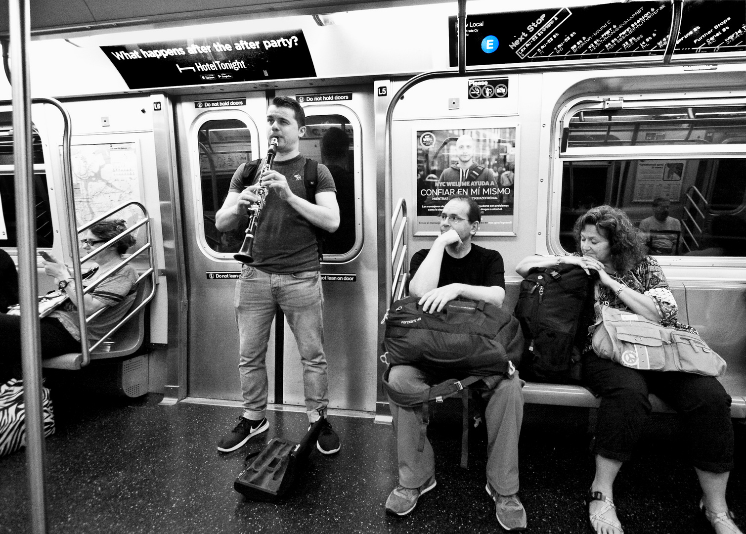 E-Tunes - A New York Subway Moment