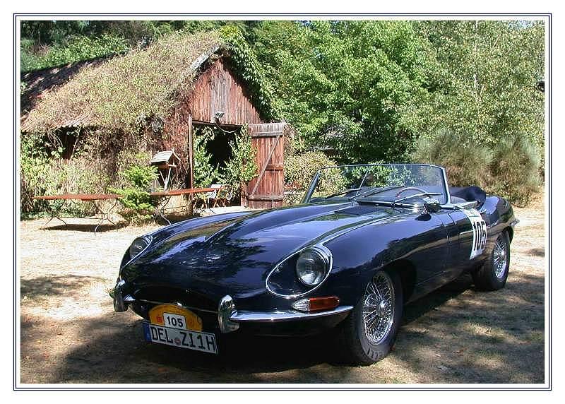 E - Type  Jaguar 4,2