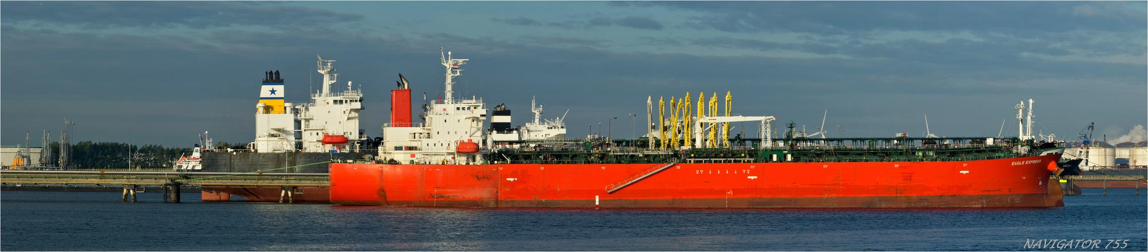 EAGLE EXPRESS /  Oil Products Tanker     /                 Bitte scrollen!
