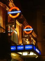 Earls Court by night