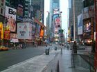 Early Morning at Times Square( I am Legend)