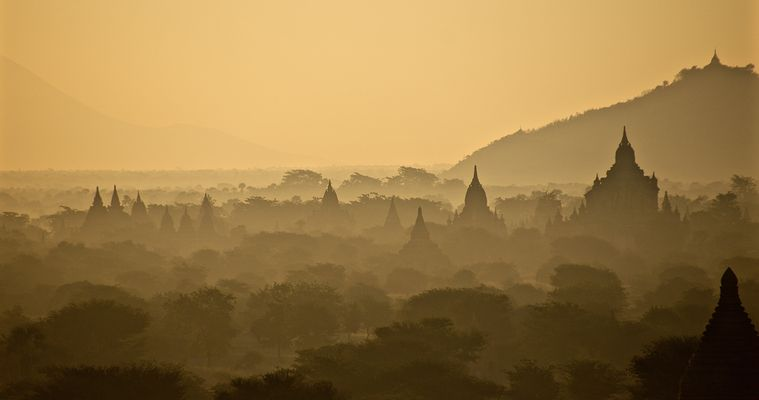 ..early morning bagan..