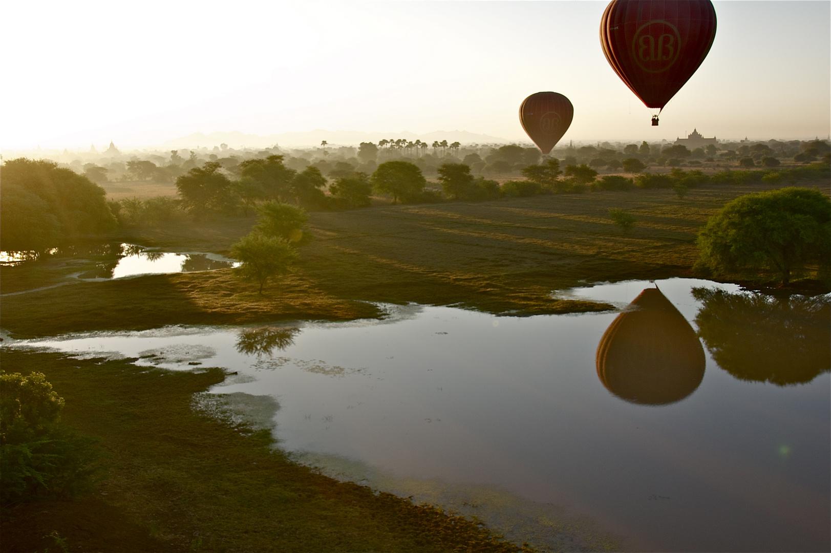 early morning bagan V