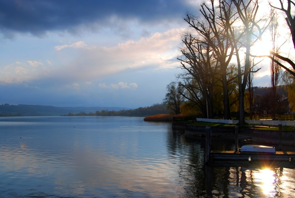 early spring @ Lake Constance, Germany (Marbach Castle)