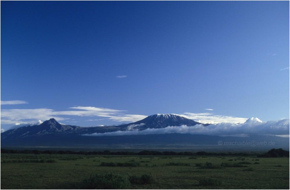 East Africa - Kenya - Amboseli - Kilimanjaro