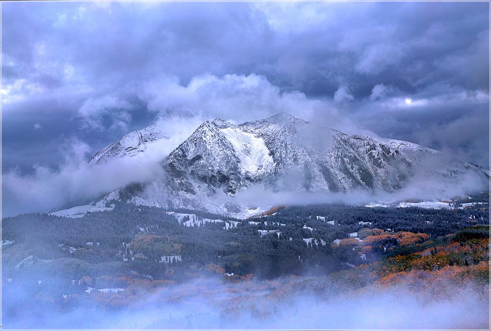 East Beckwith Mountain - Der erste Blick