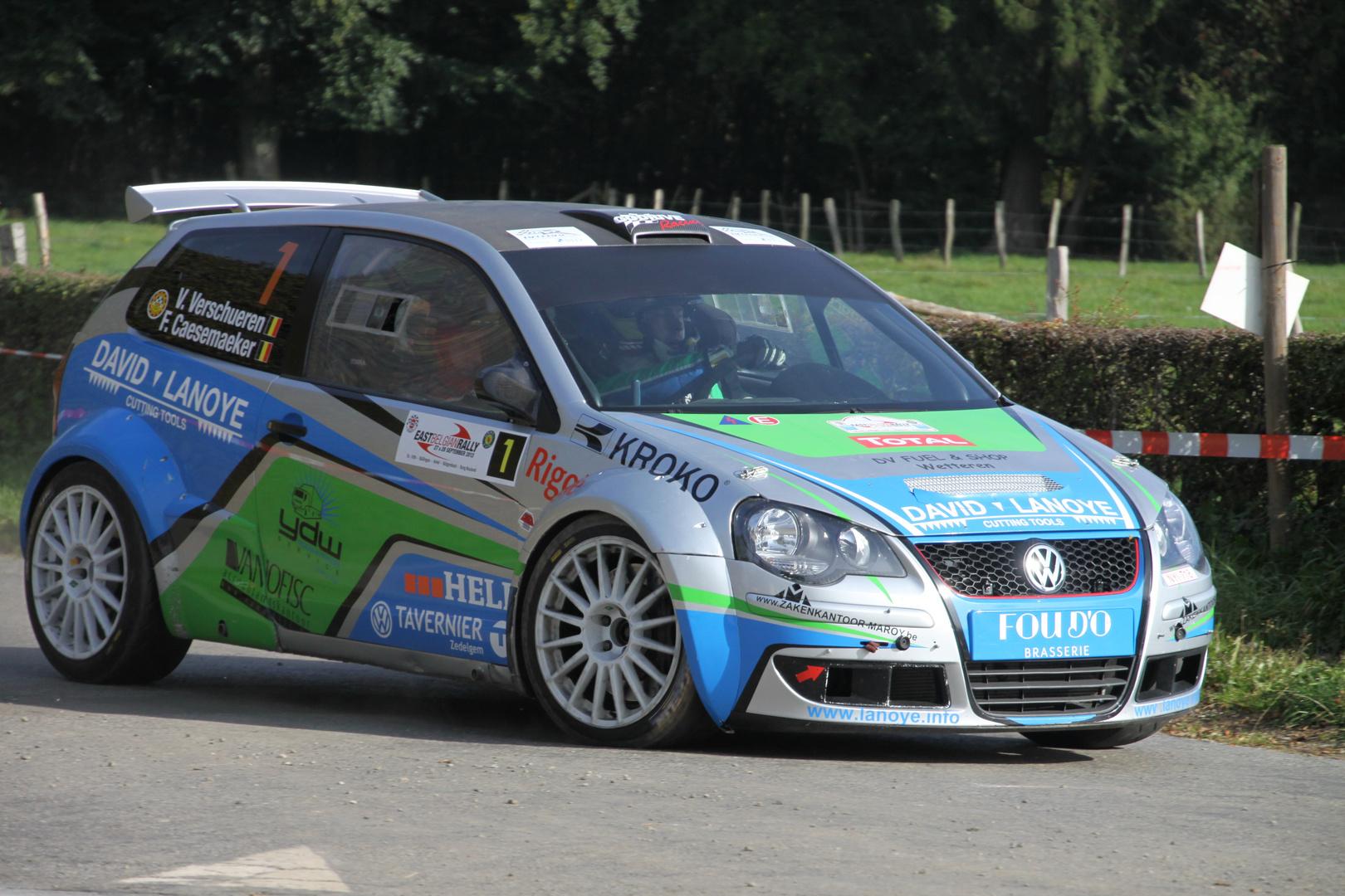 East Belgian Rally 2013
