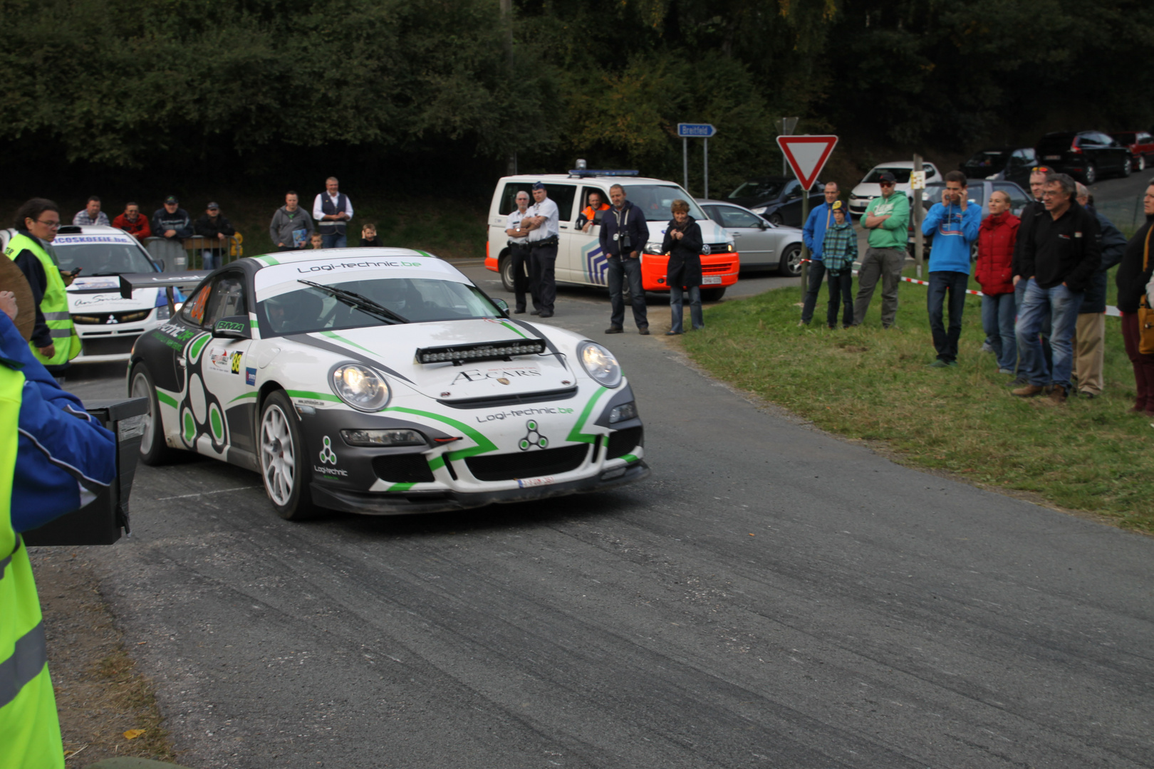"""East Belgian Rally - Start WP """"St. Vith 2"""""""