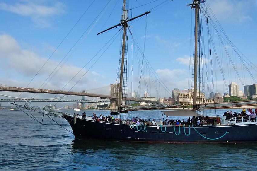...East River Sailing...
