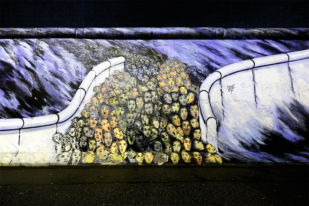 East Side Gallery (Berliner Mauer)