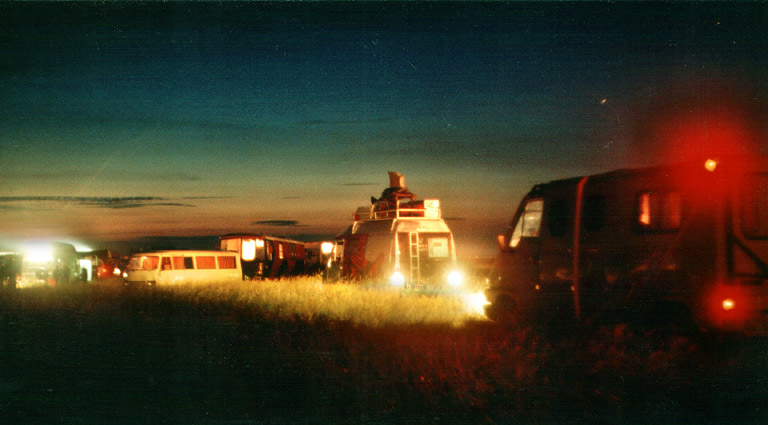 "East Teknival 2004 ""Aufbaunacht"""