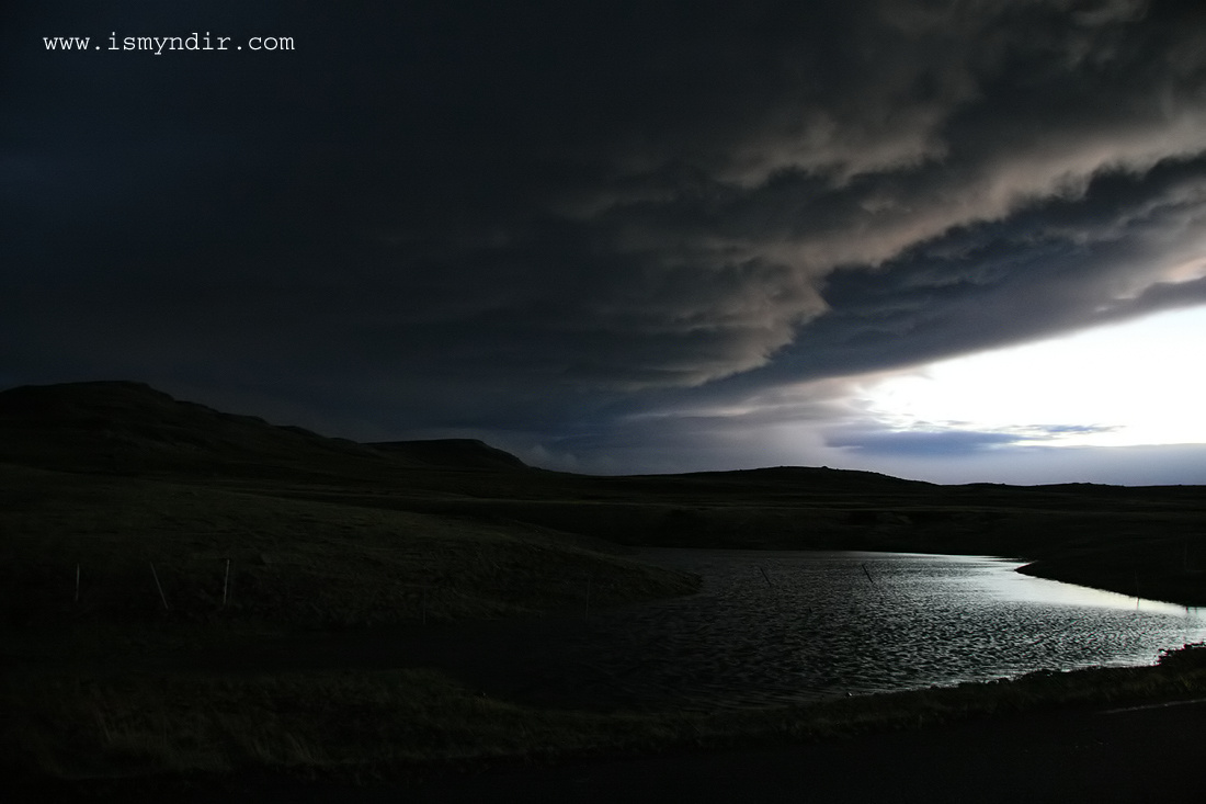Easticeland yesterday at 20:25 o clock