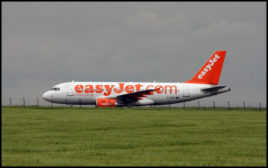 Easy Jet G-EZAY