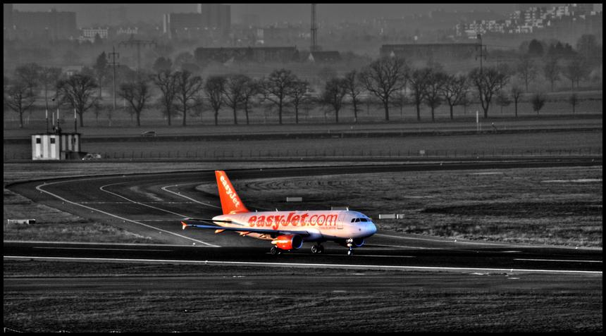 Easy Jet in SXF