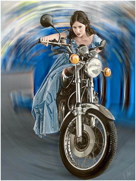 Easy Rider Girl oder Der Ausgang des Zeittunnels