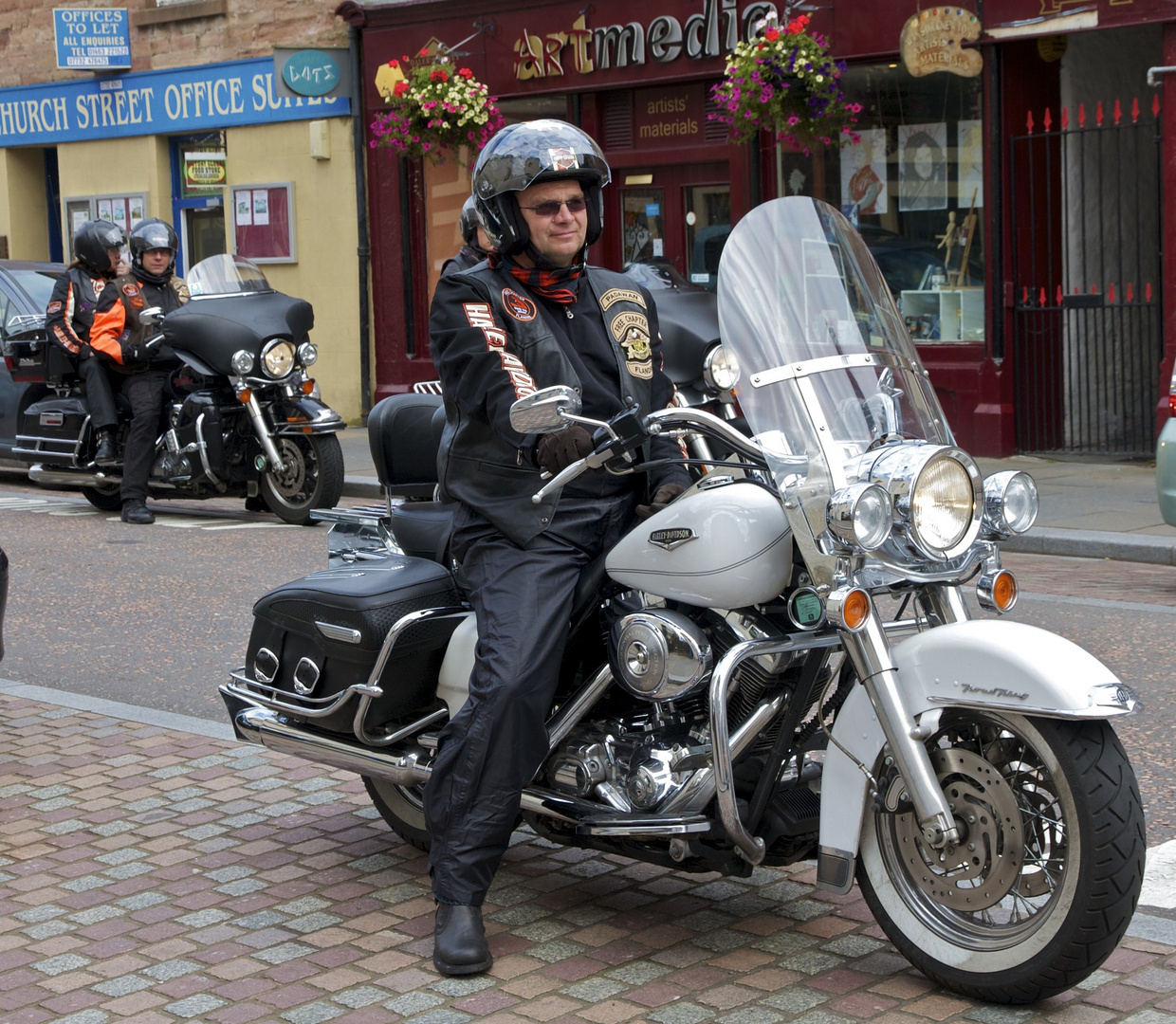 """""""Easy Rider"""" in Inverness"""