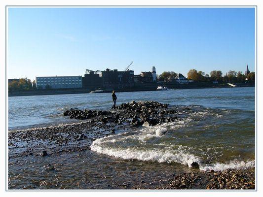 Ebbe und Flut am Rhein ;-))