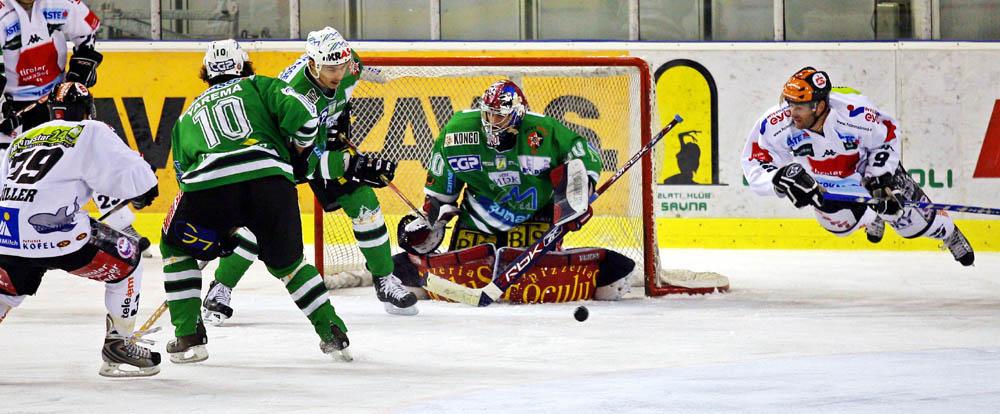 EBEL - HDD Olimpija Laibach vs HC Innsbruck