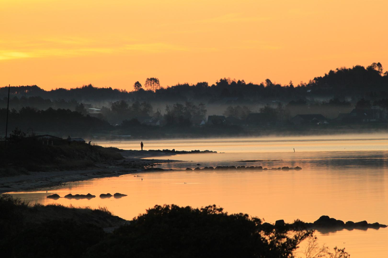 Ebeltoft morning sunrise
