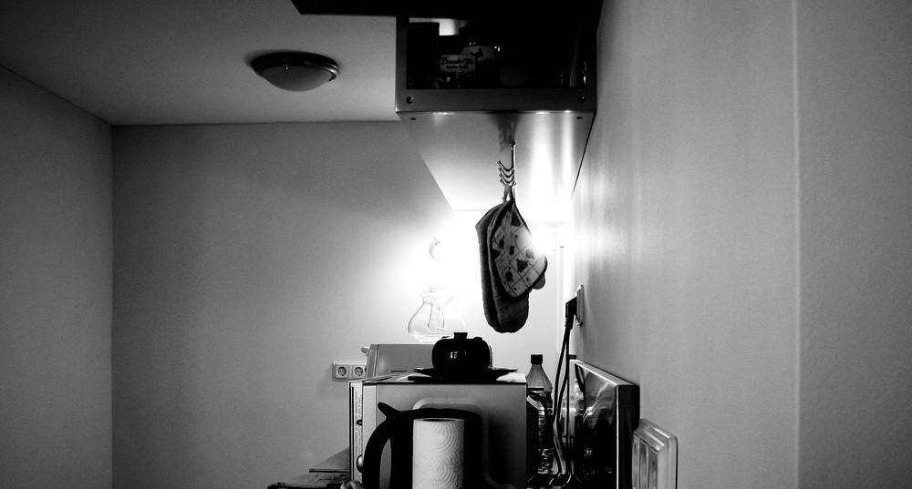 Eben in der Küche...