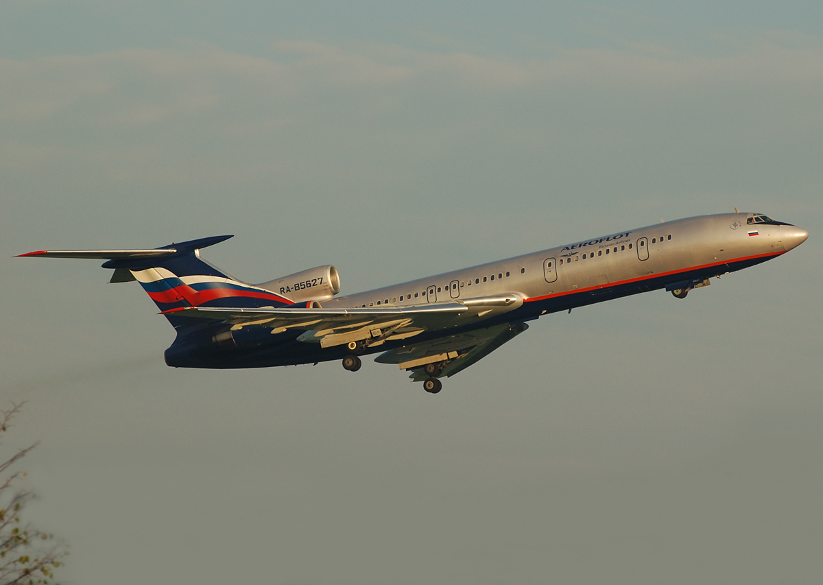 Ebenfalls Historie:TU154M der Aeroflot
