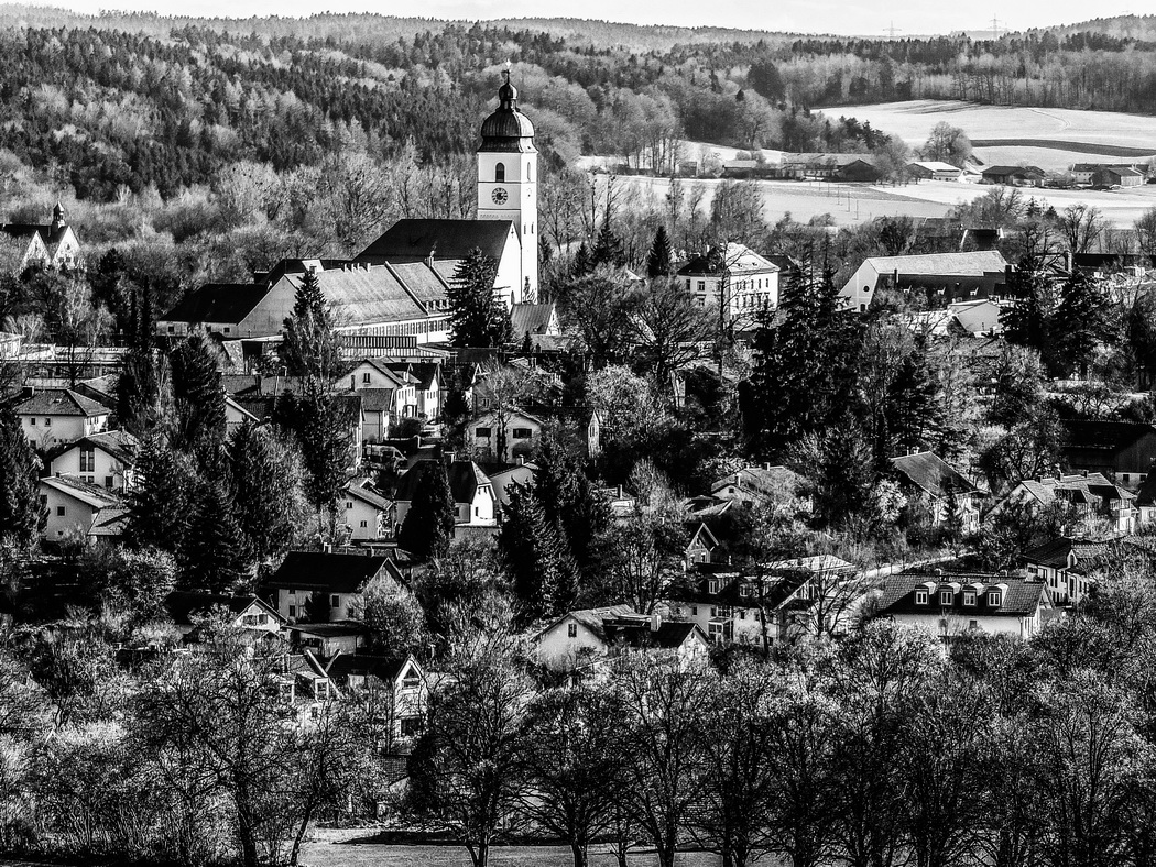 Ebersberg vom Aussichtsturm