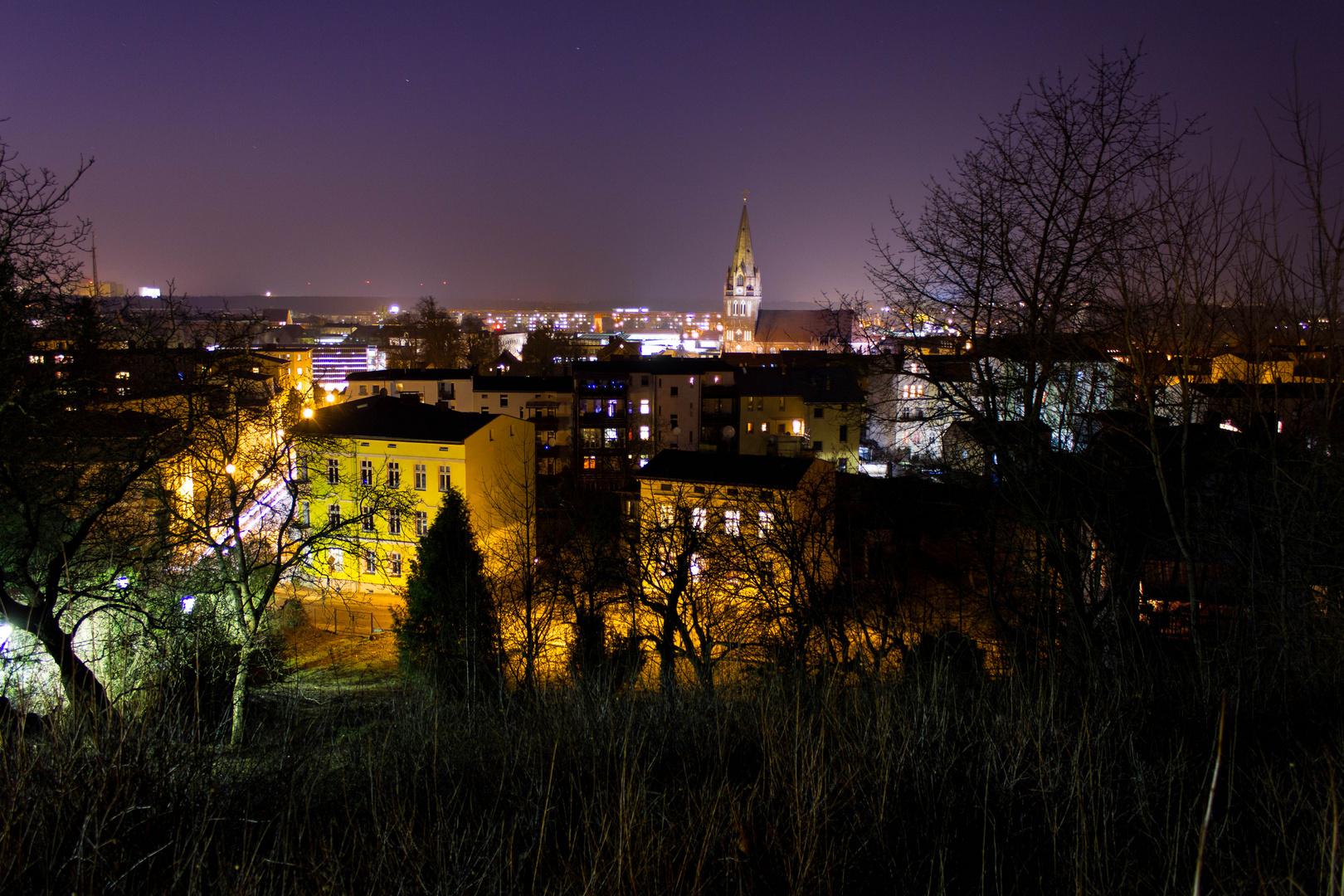 Eberswalde bei Nacht