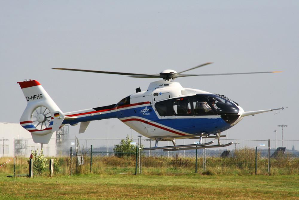 EC-135 Versuchsmaschine der DLR