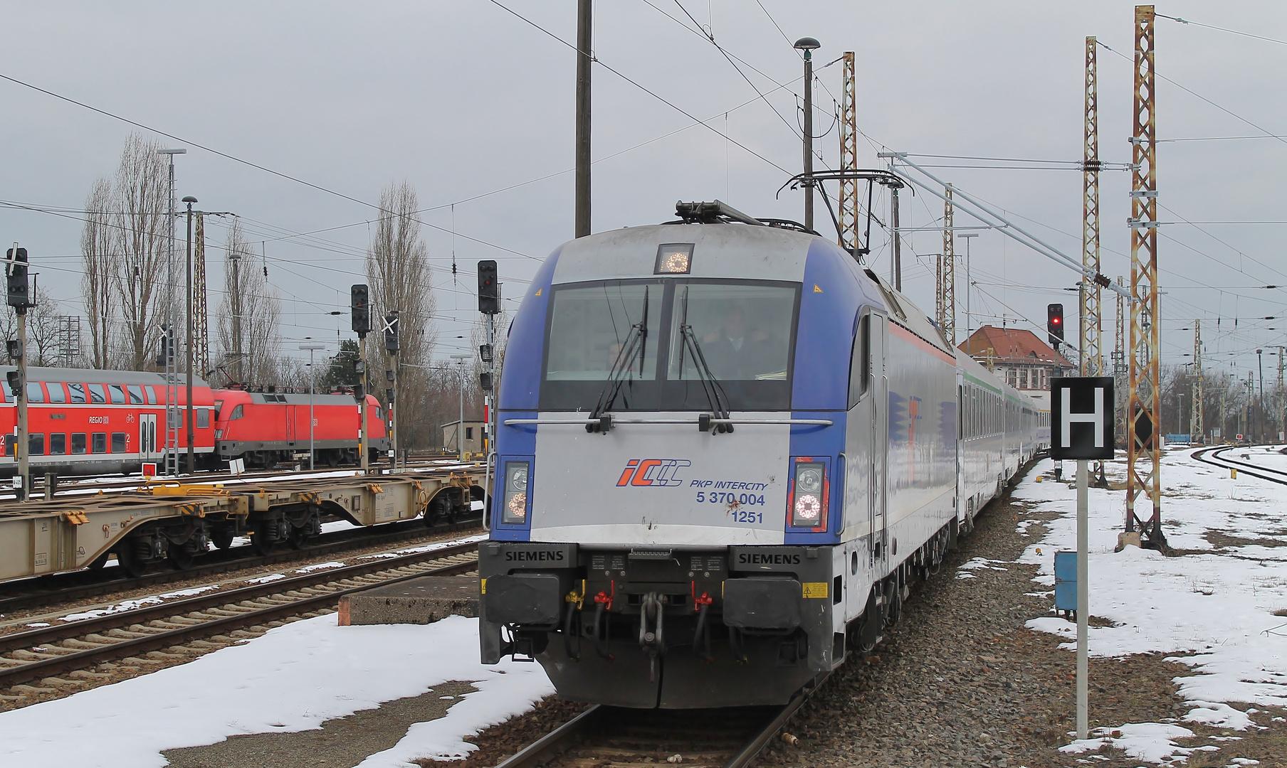 EC 54 Berlin-Gdynia-Express...