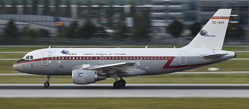EC-KKS - Iberia - Retro - Airbus - A319
