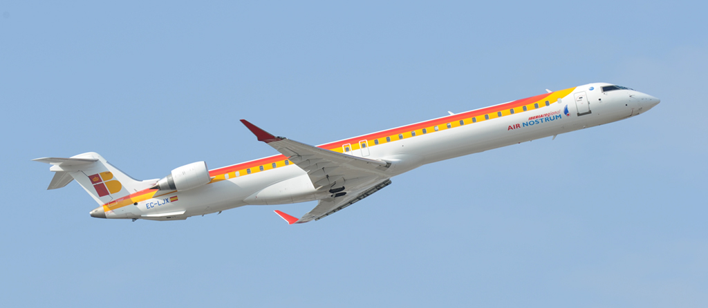 EC-LJX - Iberia Regional - Air Nostrum - Canadair Regional Jet CRJ1000