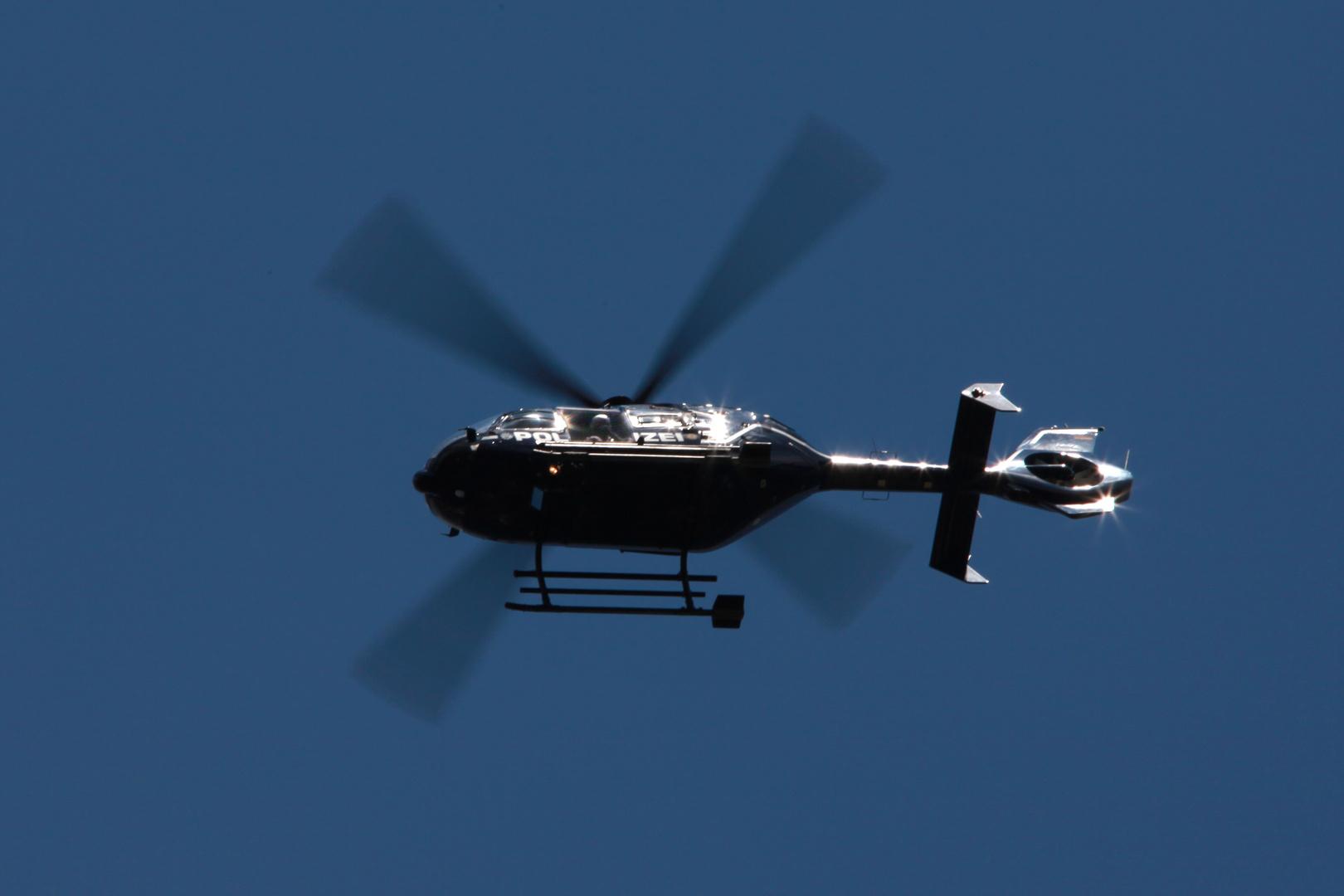 EC135 bei der Arbeit