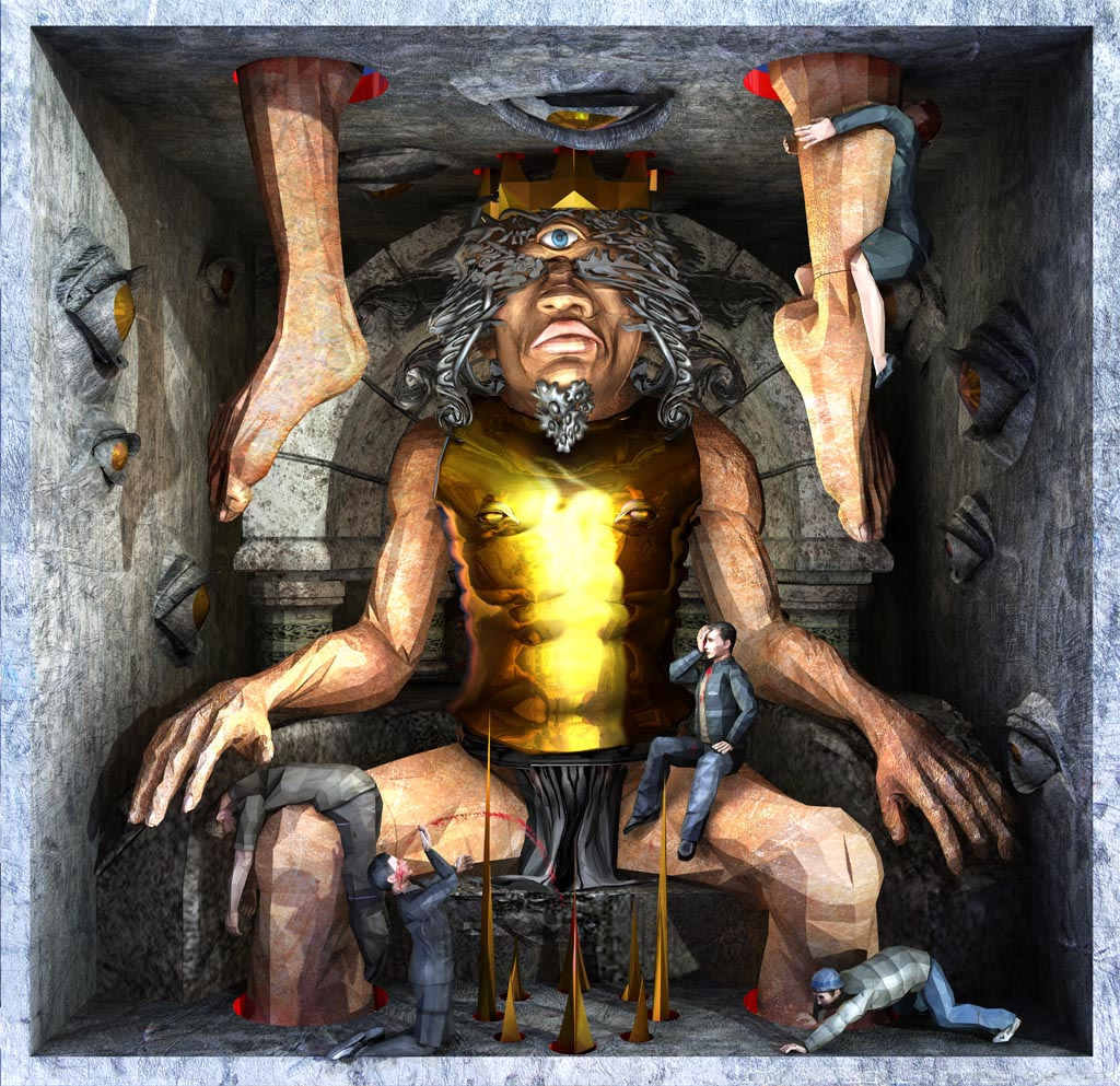 Ecce Homo 117 - THE ONE EYED KING
