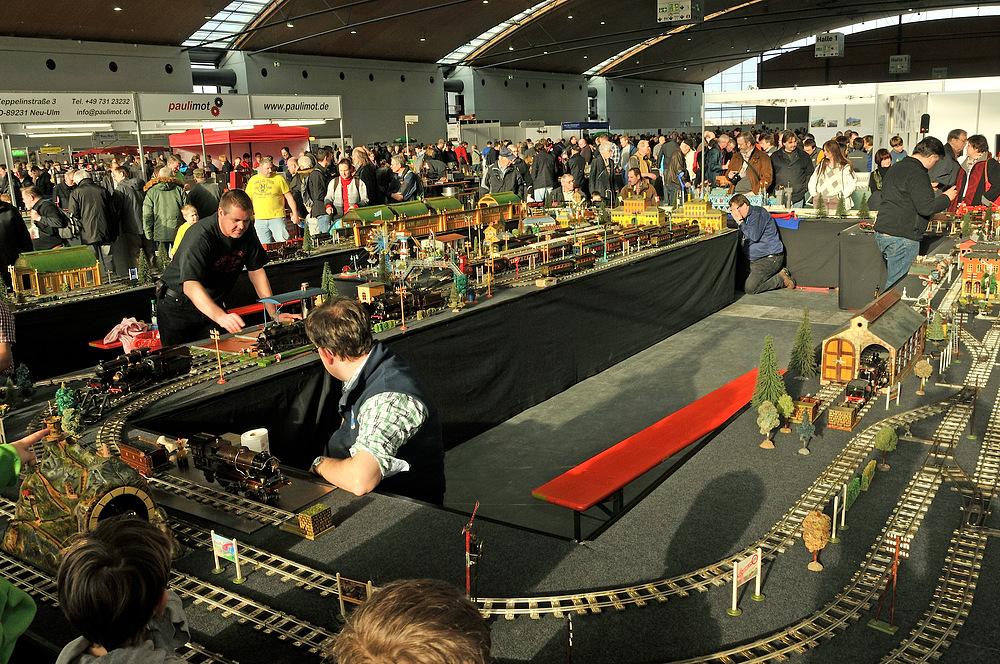 """Echtdampfhallentreff in Karlsruhe im Jan. 2013 """"Serie"""" Nr.41"""