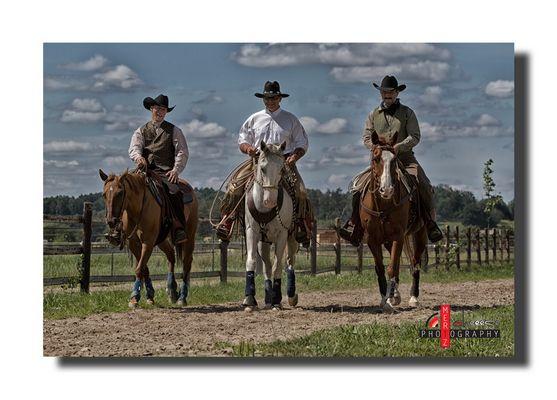 echte Cowboys...