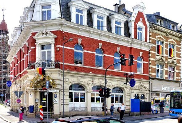 Eckhaus in Wuppertal