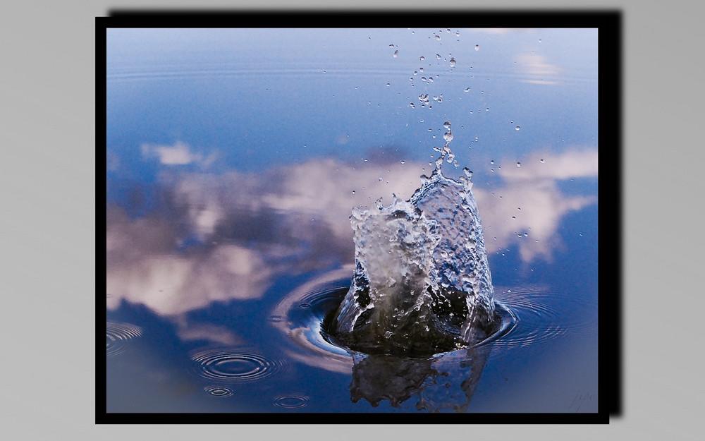 éclaboussure d'eau
