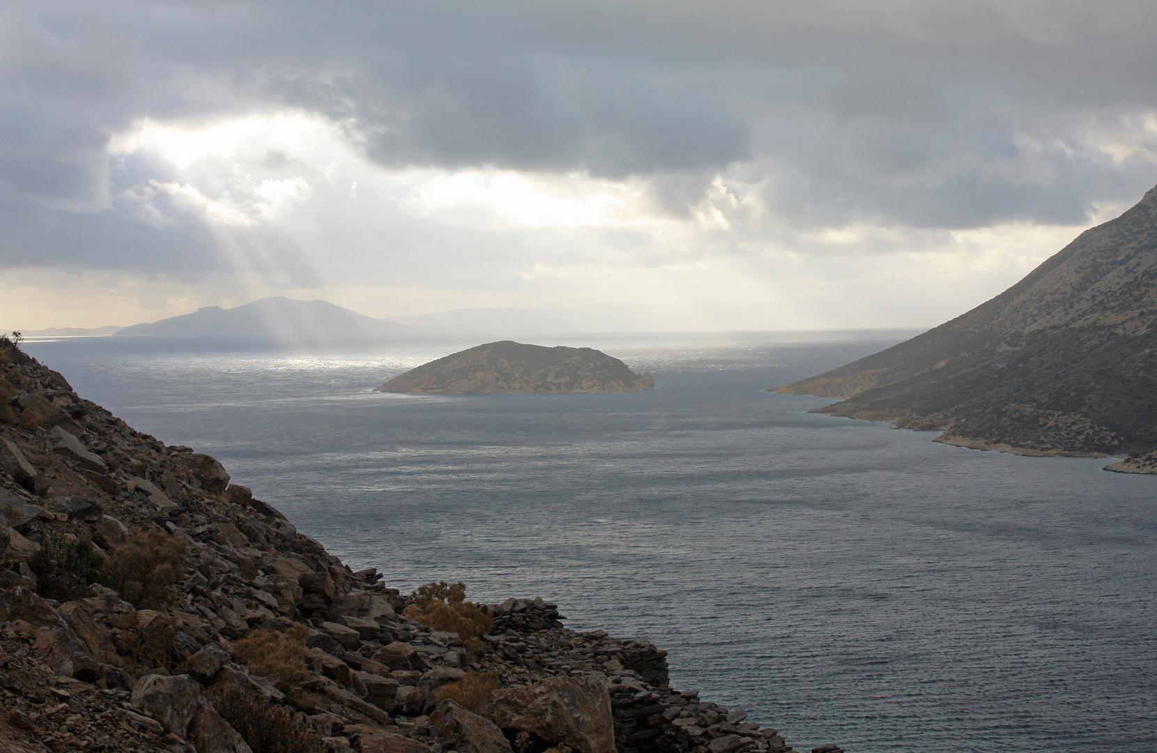 éclaircie à Amorgos