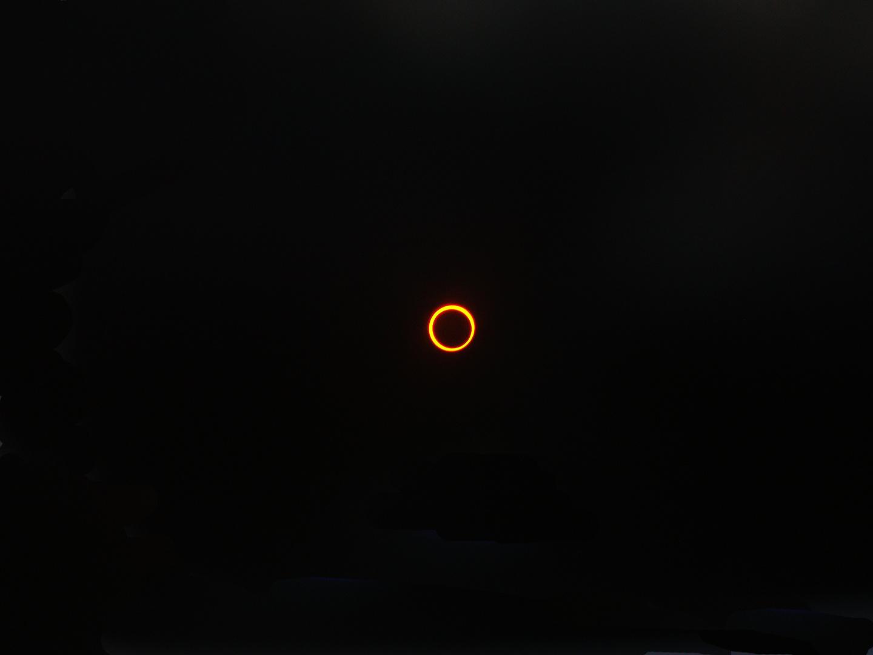 Eclipse solaire au Maldives