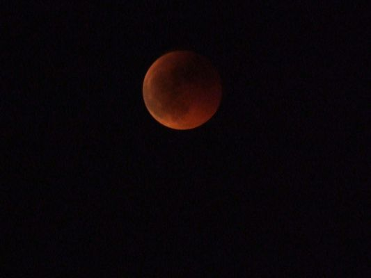 Eclipse totale de lune