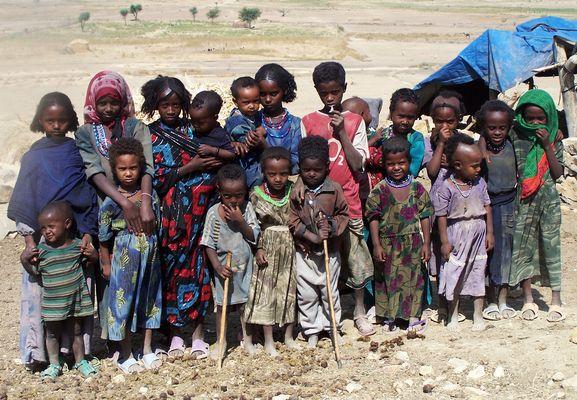 Ecoliers en Ethiopie