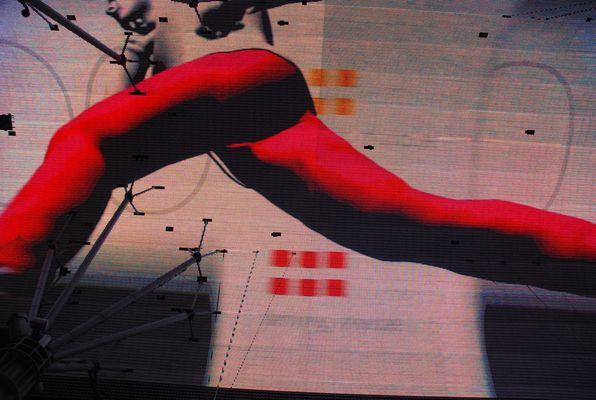 Ecran géant à Fremont Las Vegas