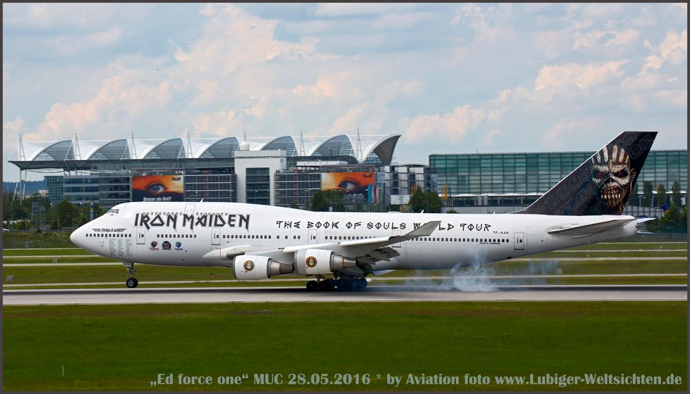 """Ed force one"" in MUC"