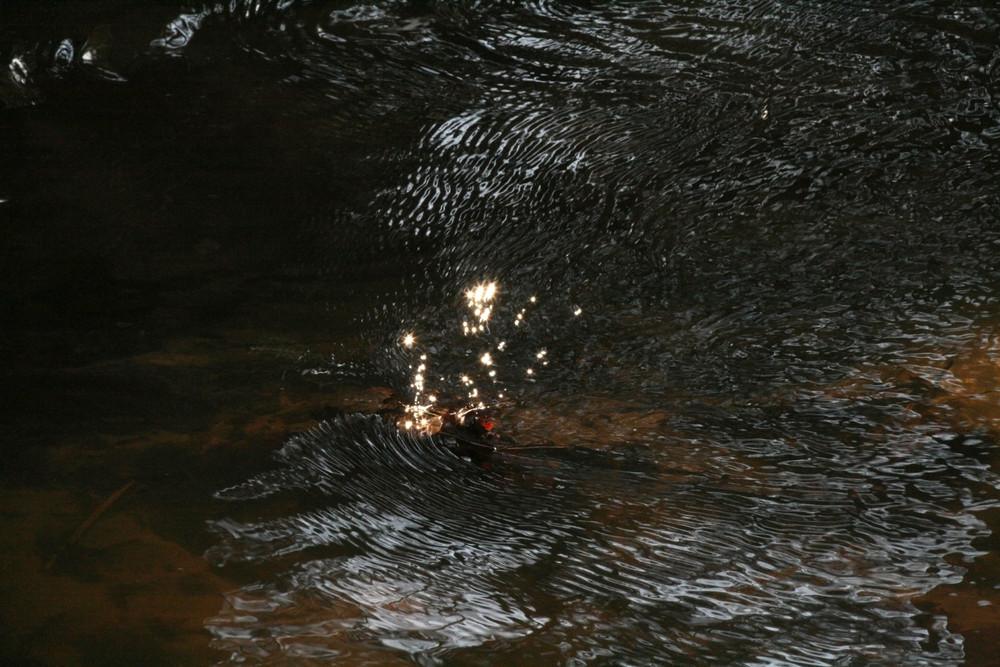 Edelsteine im Wasser ?