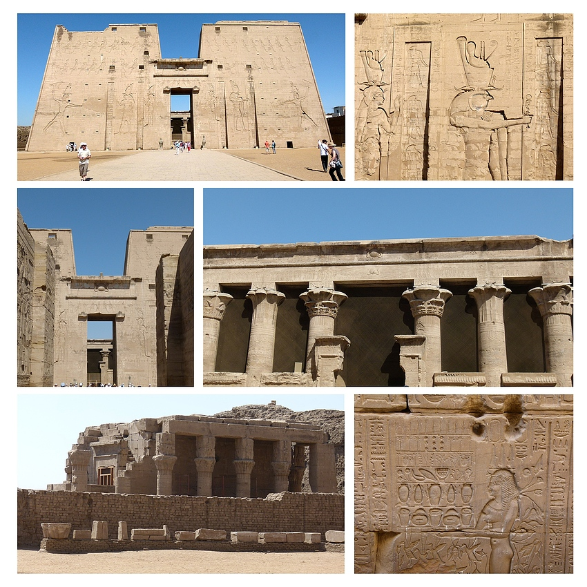 ...Edfu - Tempel - Eindrücke...