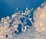 Edge of snowflake