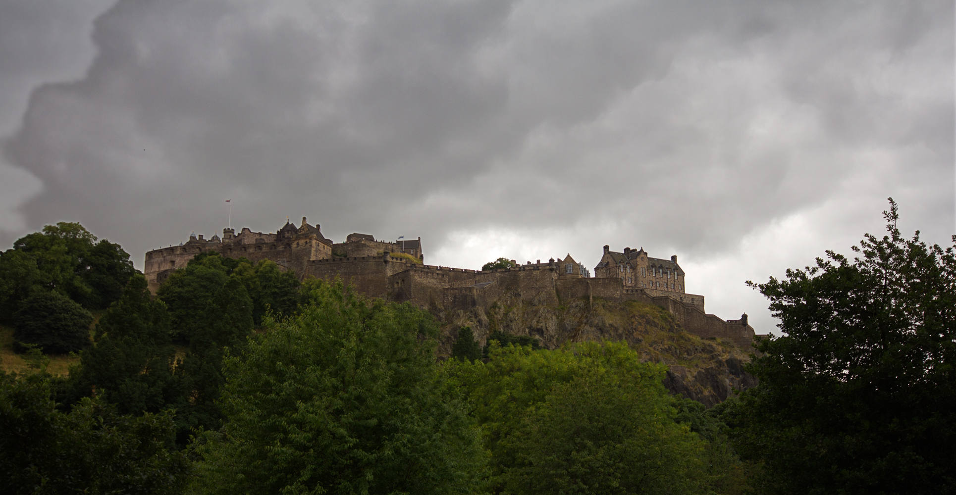Edinburgh Castle, 2. Versuch