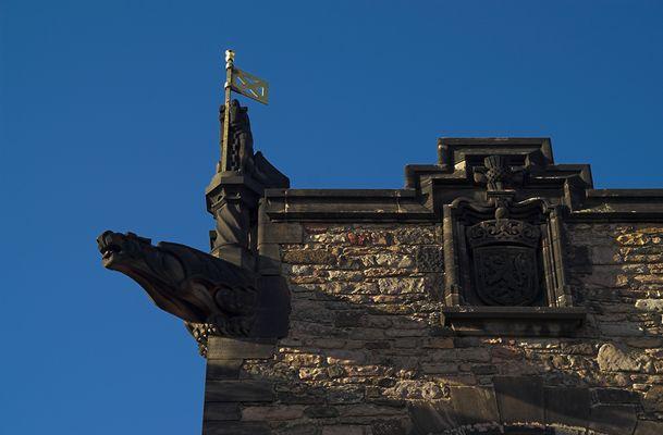 Edinburgh Castle / Detail