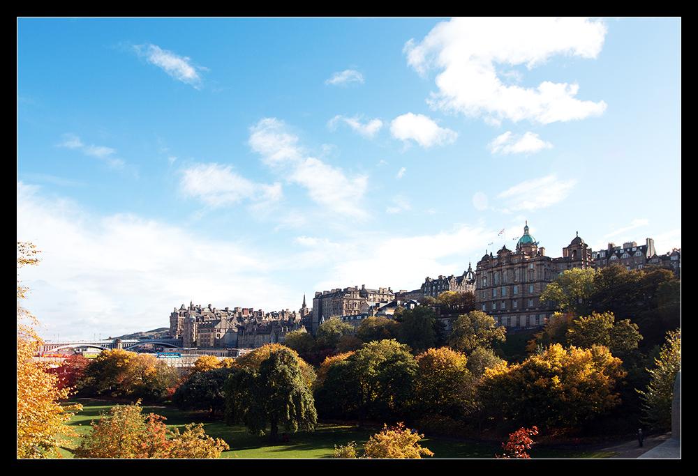 Edinburgh im Oktober