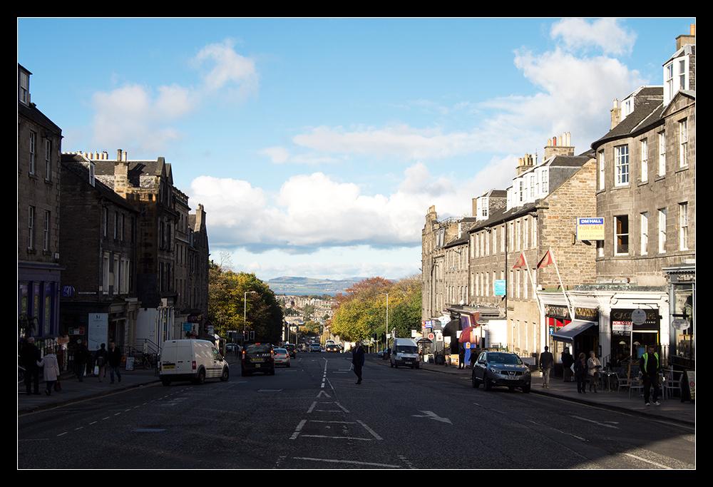Edinburgh im Oktober III